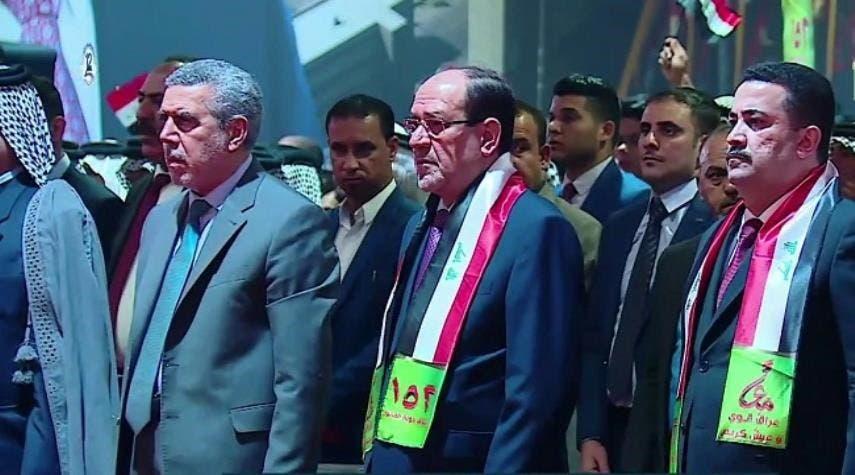 محمد شياع السوداني و نورى المالكي