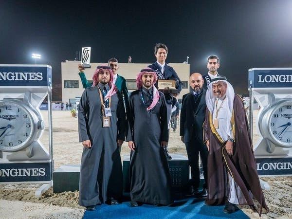 عبدالعزيز الفيصل يتوج الفائزين في مهرجان الدرعية للفروسية