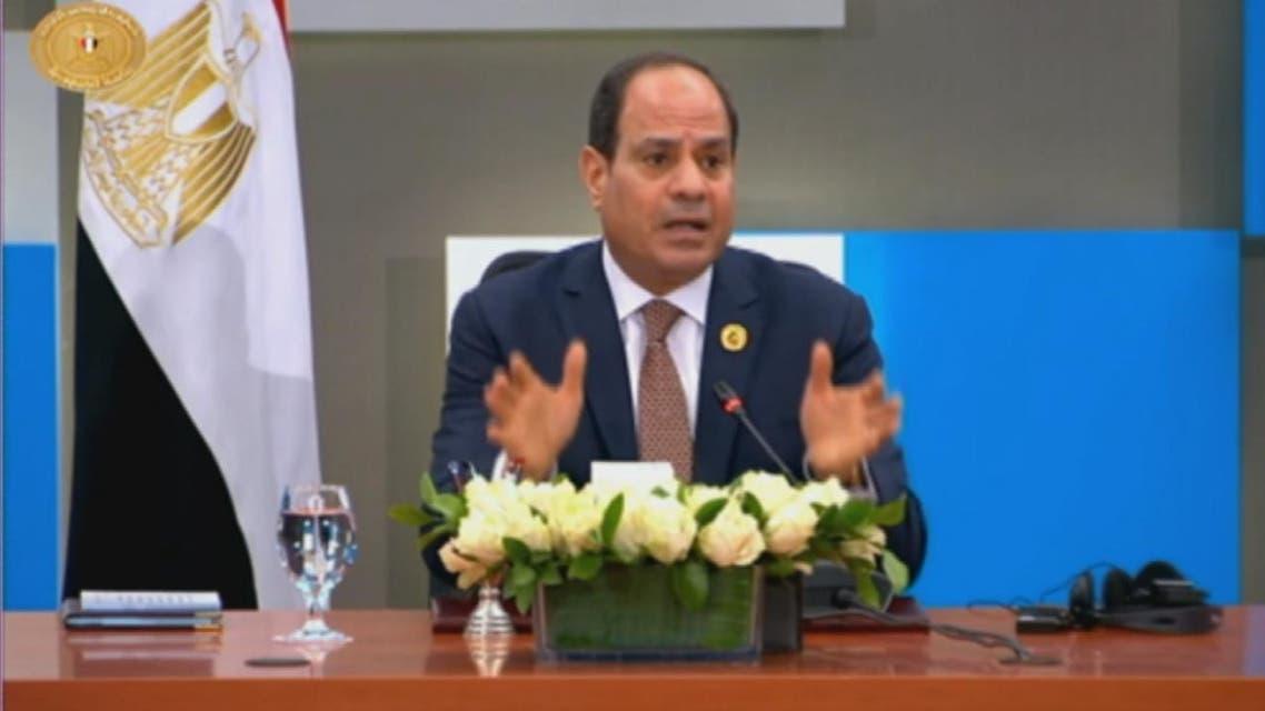 السيسي: الأمن القومي المصري يتأثر بالموقف في ليبيا