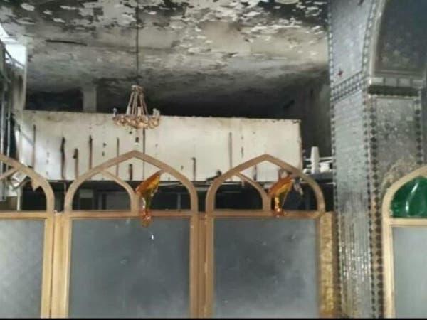 حرق مزار ديني في إيران بعد سرقة محتوياته