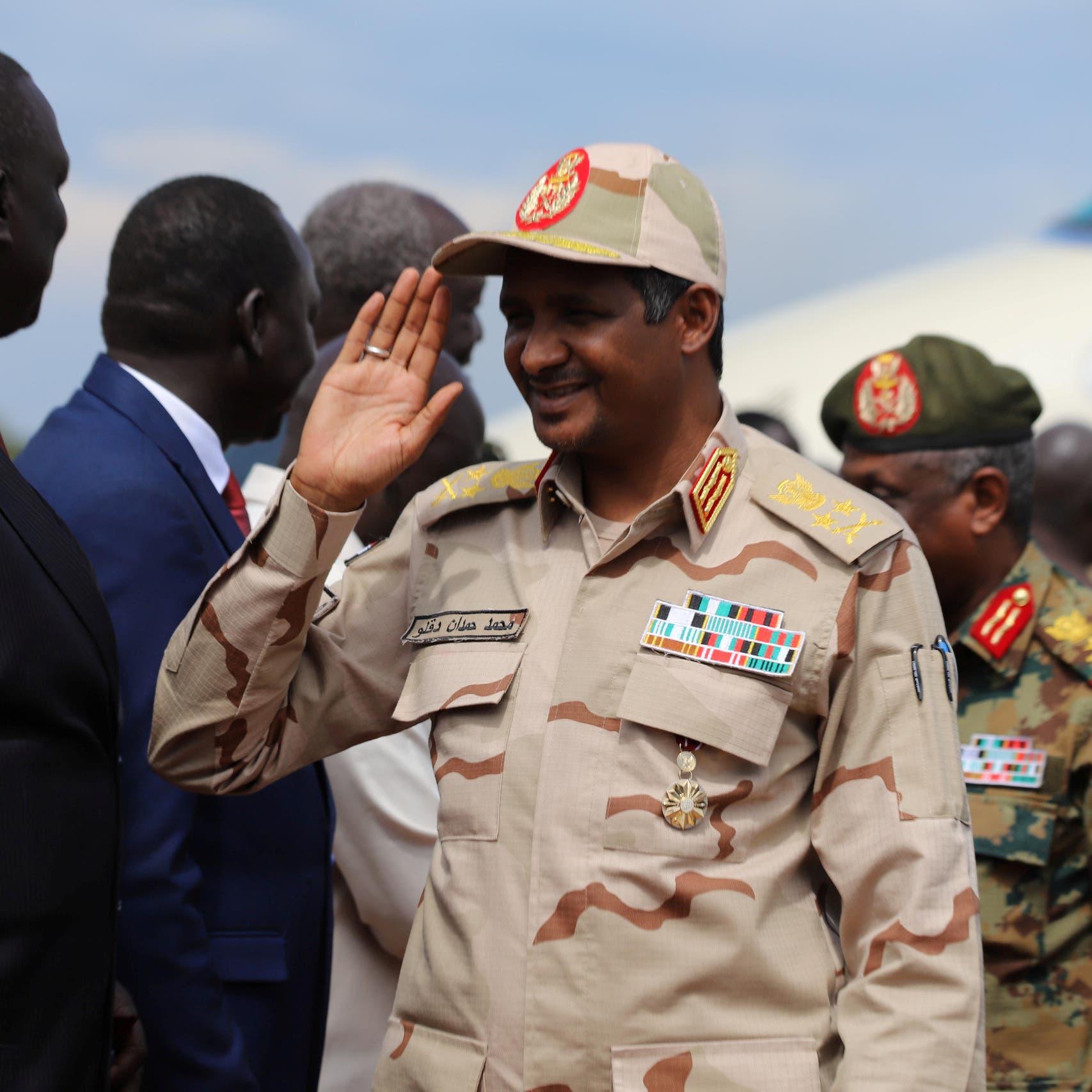 حميدتي: السودان لم يتعرض لضغوط أميركية والتطبيع مكسب لنا