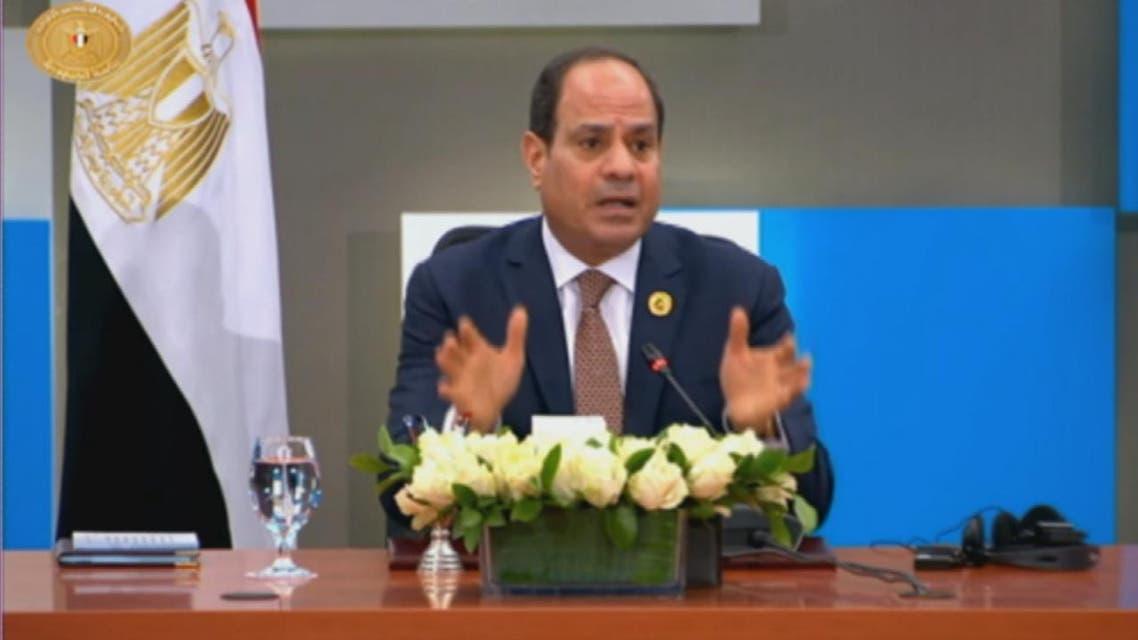 THUMBNAIL_ السيسي: الأمن القومي المصري يتأثر بالموقف في ليبيا