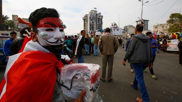 العراق.. احتجاجات جديدة وعبدالمهدي يستنكر العقوبات على قادة بالحشد