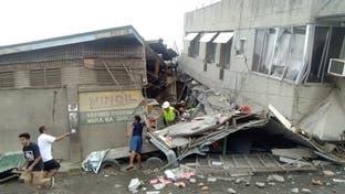 مقتل طفلة ووقوع إصابات وأضرار في زلزال قوي جنوب الفلبين
