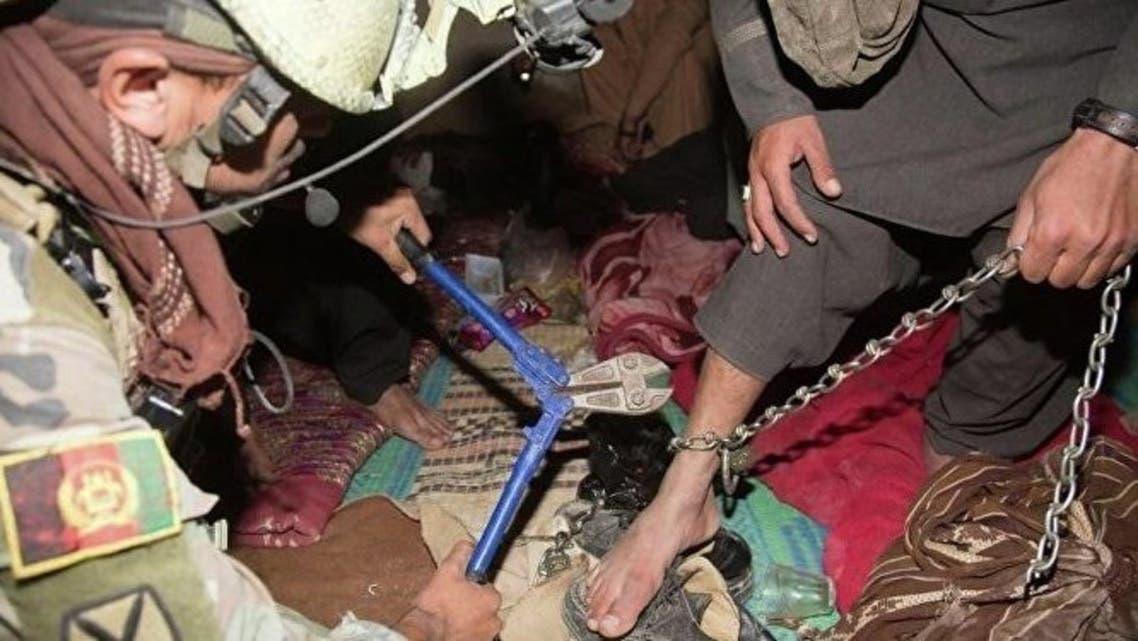 سربازان افغانستان 12 نفر را از قید طالبان آزاد کردند