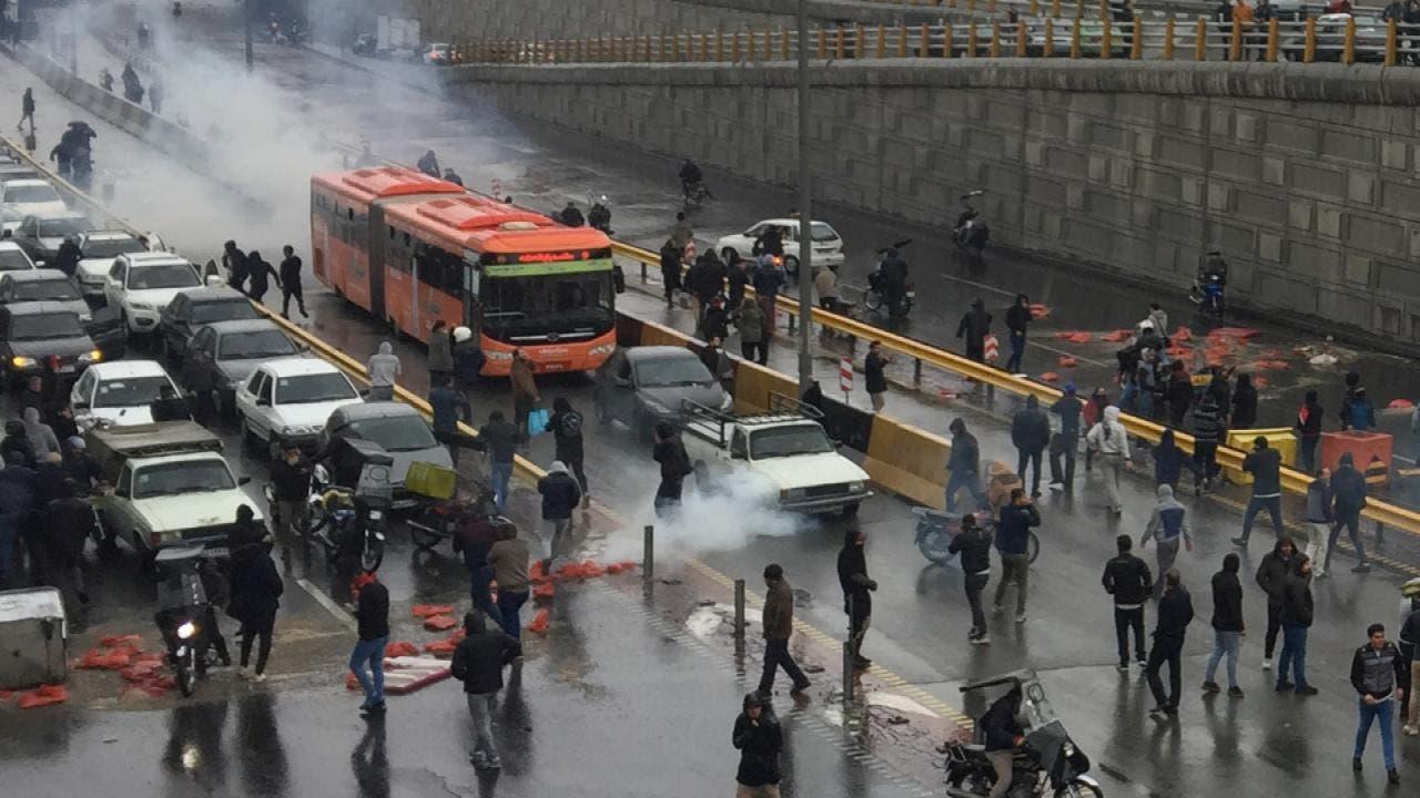 احتجاجات سابقة في إيران