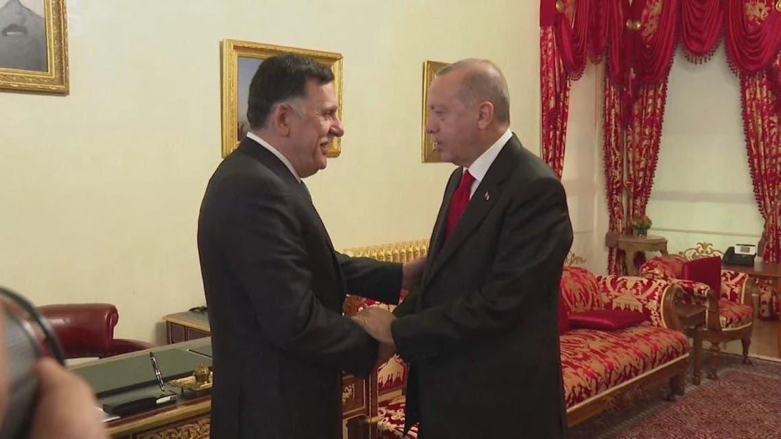 الدعم التركي لميليشيات