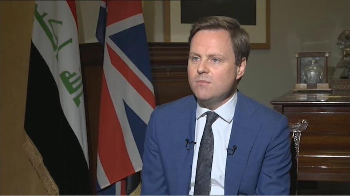 استیون هیکی، سفیر بریتانیا در عراق