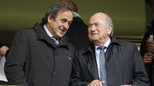FIFA goes after Blatter, Platini in bid to recover $2 mln