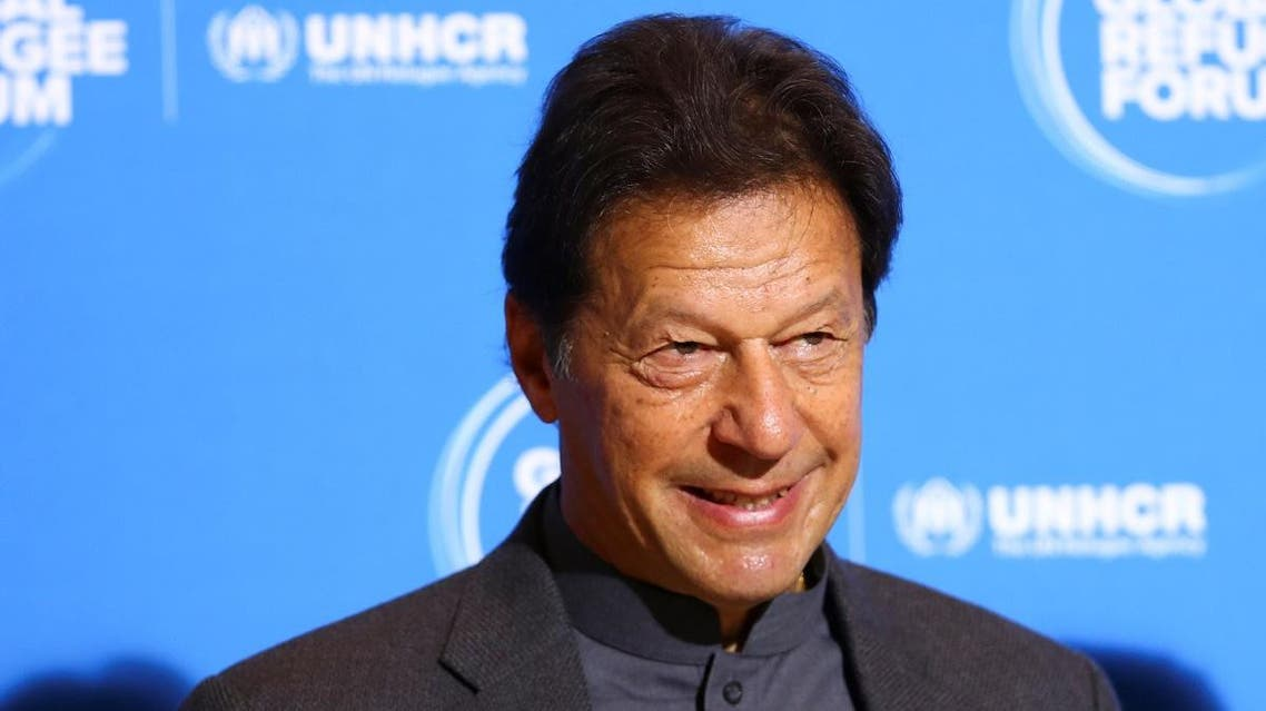 Pakistan's Prime Minister Imran Khan arrives for the Global Refugee Forum at the United Nations in Geneva, Switzerland, December 17, 2019, REUTERS/