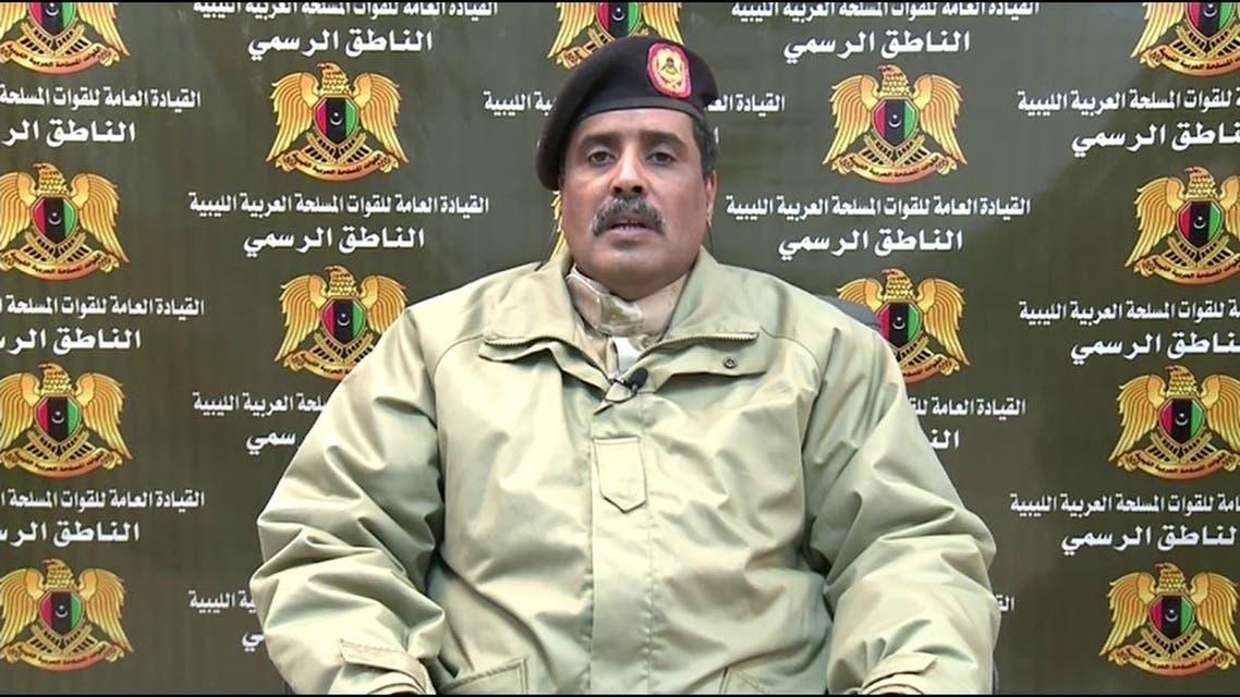 المتحدث باسم الجيش الليبي أحمد المسماري