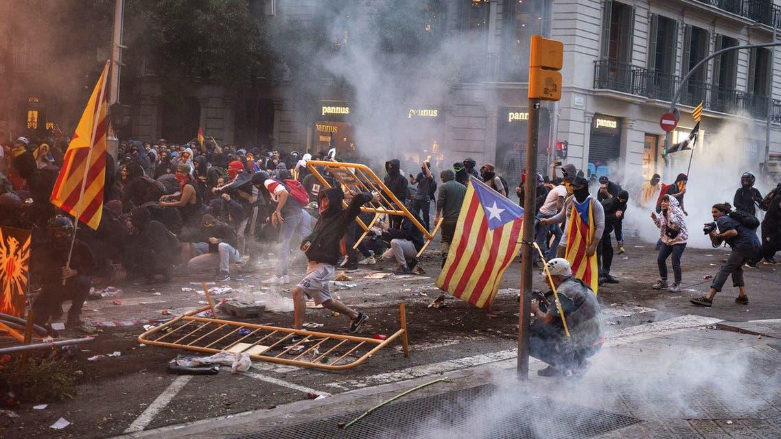 كاتالونيا مظاهرات