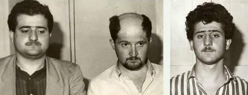 الأخوة الثلاثة، من اليمين هراتش (مطلق النار) وبانوس ورافي