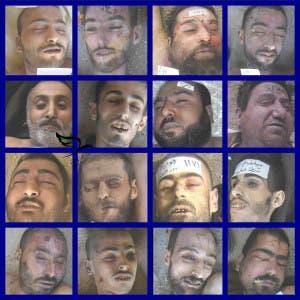صور قيصر لمعتقلين في السجون السورية