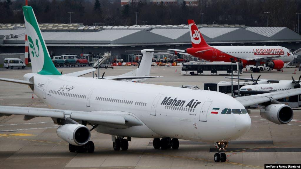 طائرة ماهان الإيرانية
