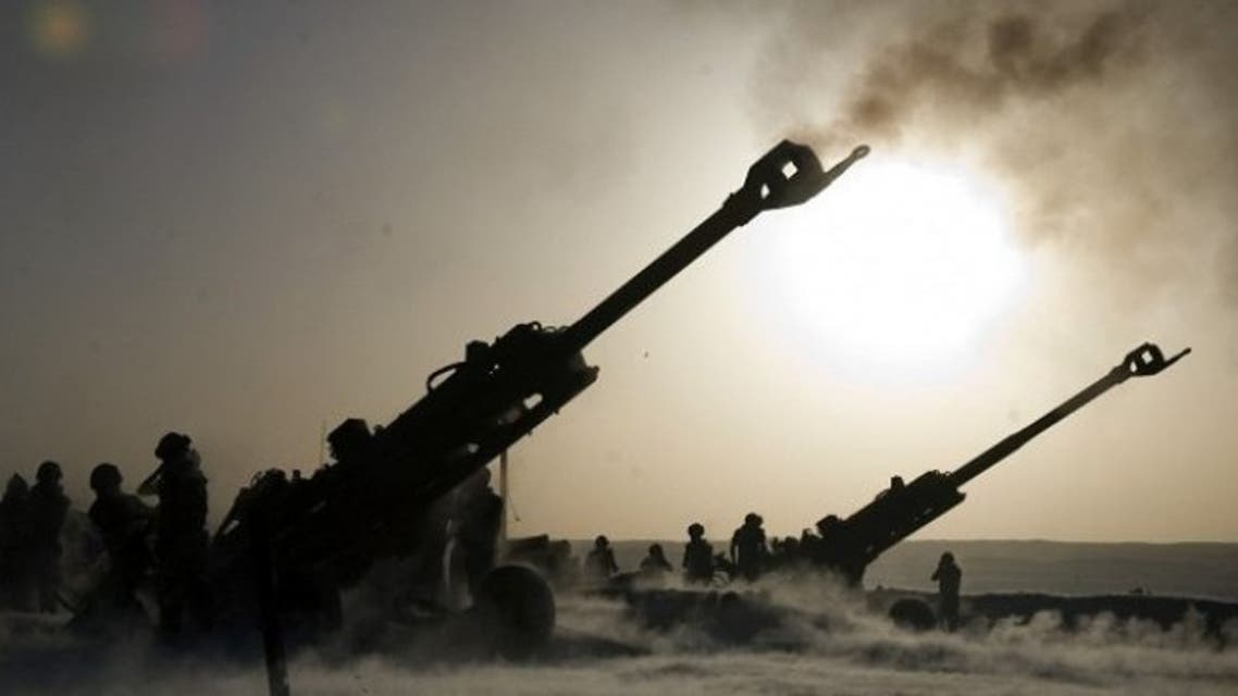 قصف مدفعي تركي