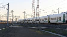 """""""قطار الحرمين"""" يستأنف رحلاته اليومية بين المدينة ومكة"""