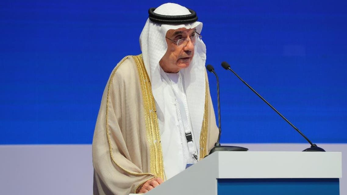 Zaki Nusseibeh, UAE Minister of State, speaking at a counter-terrorism conference in Abu Dhabi, December 18, 2019. (Supplied)