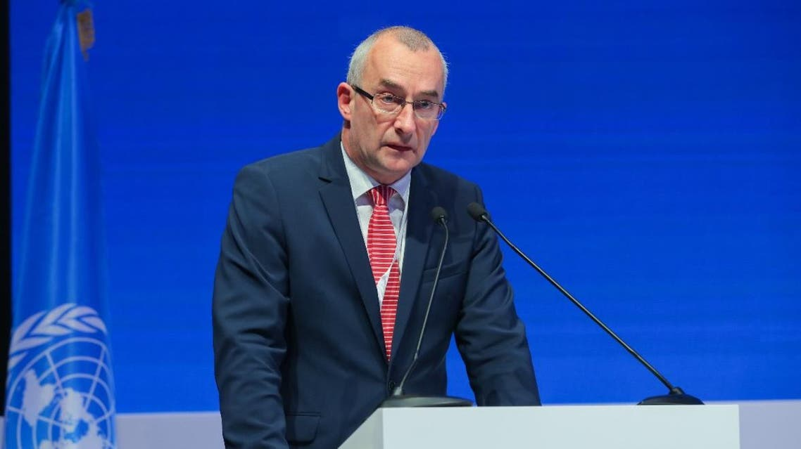 Hungary's State Secretary for Security Policy Peter Sztaray at UNOCT UAE conference in Abu Dhabi, December 18, 2019 (Supplied)