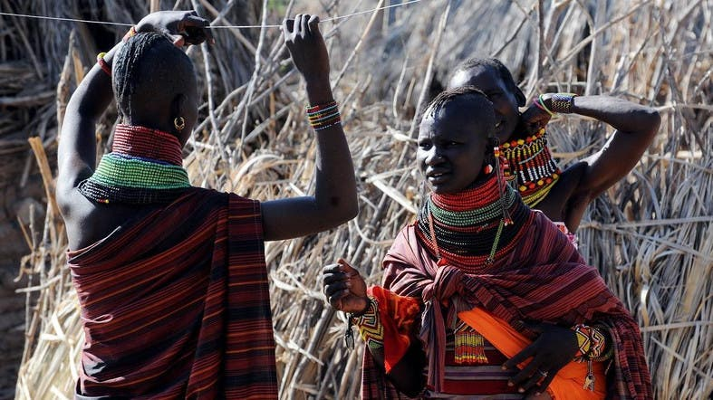 The nomadic Turkana tribes of northeastern Kenya have been especially vulnerable as they live in remote pastoral and farming communities. (AFP)