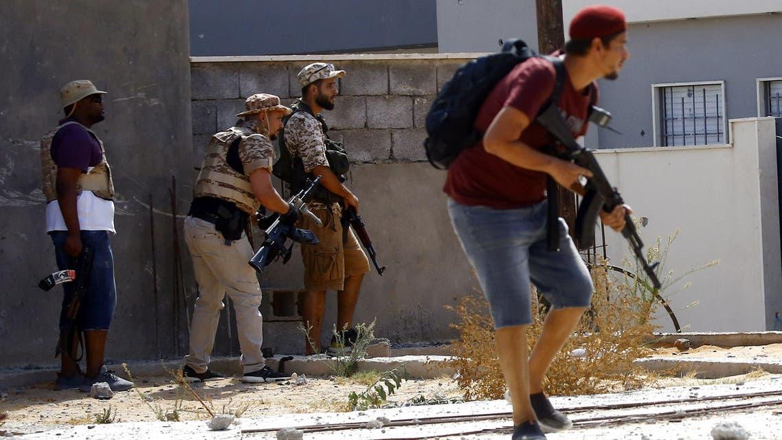 (فرانس برس)عناصر من  قوات الوفاق