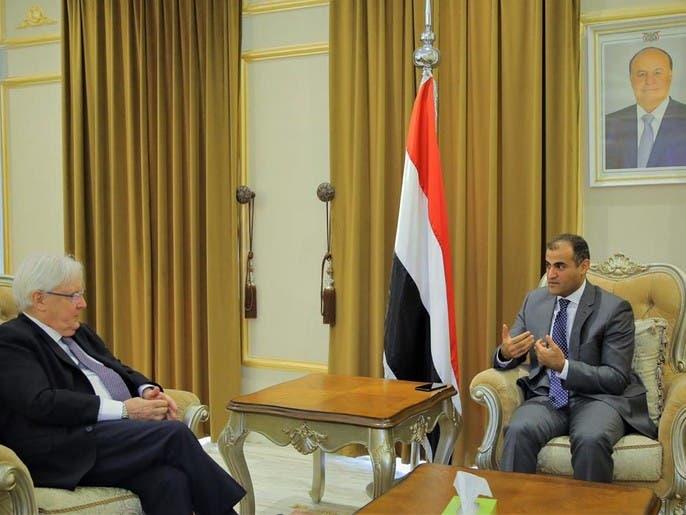 حكومة اليمن تتهم الحوثيين بعرقلة السلام