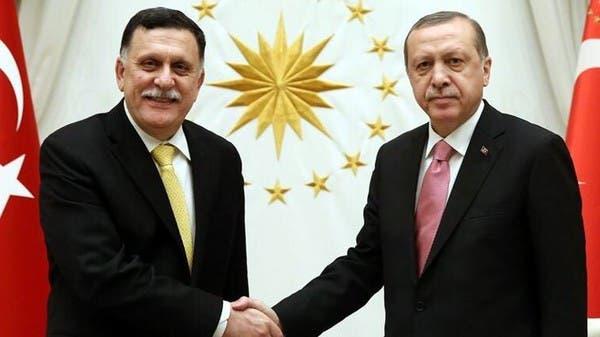 السراج وأردوغان يبحثان البرنامج التنفيذي لمذكرتَي التفاهم