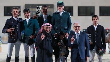 السعوديون يتألقون في مهرجان الدرعية للفروسية