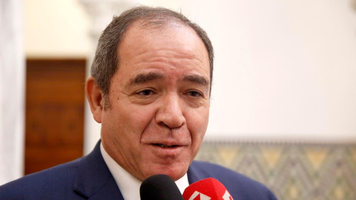 Algeria's interim Prime Minister Sabri Boukadoum. (File photo: AP)