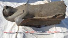 بالصور.. اكتشاف تمثال ضخم لحورس بأحد أشهر معابد الأقصر