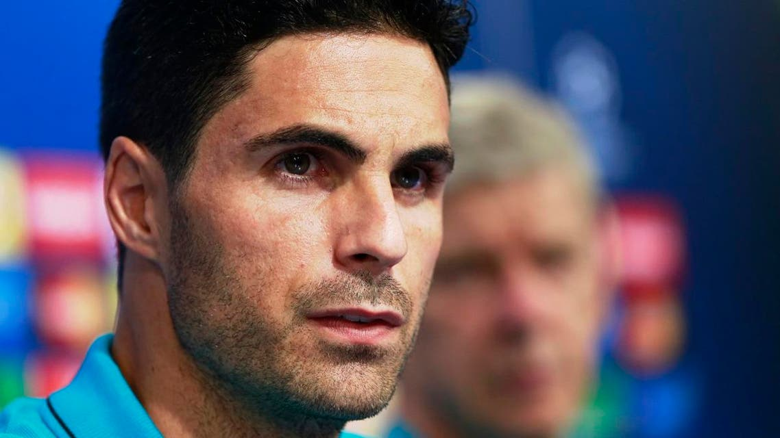 Arsenal hires its former midfielder Mikel Arteta as manager,  as the London club languisheds in 10th place in the league. (File photo: AP)