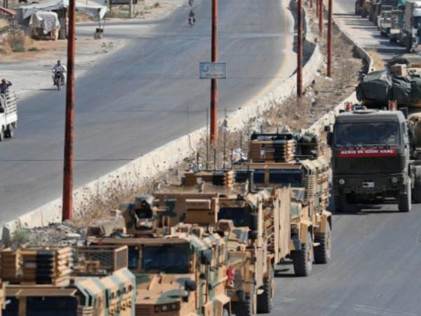 سوريا.. آليات عسكرية تركية تدخل جنوب إدلب