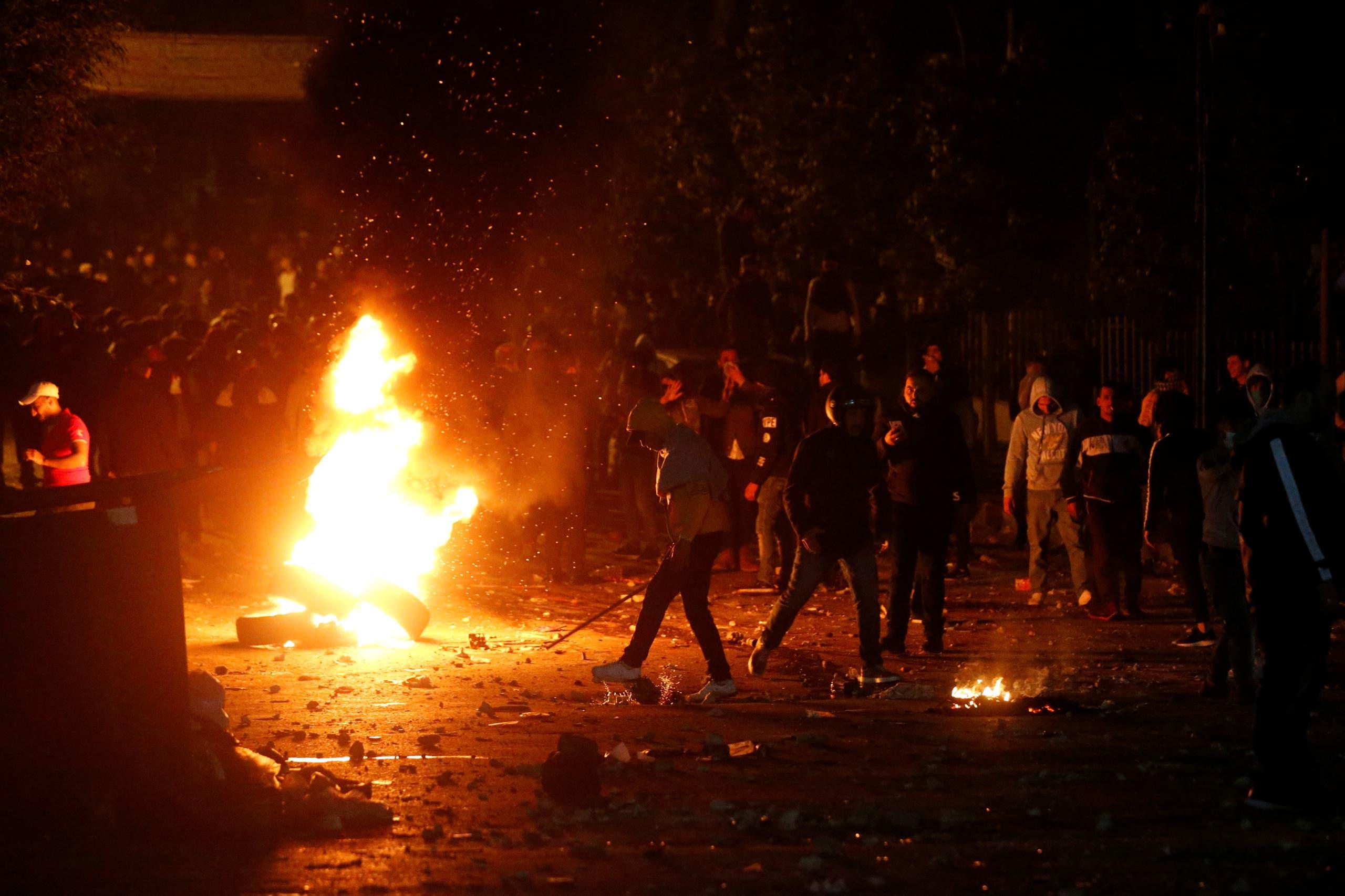 من اشتباكات بيروت