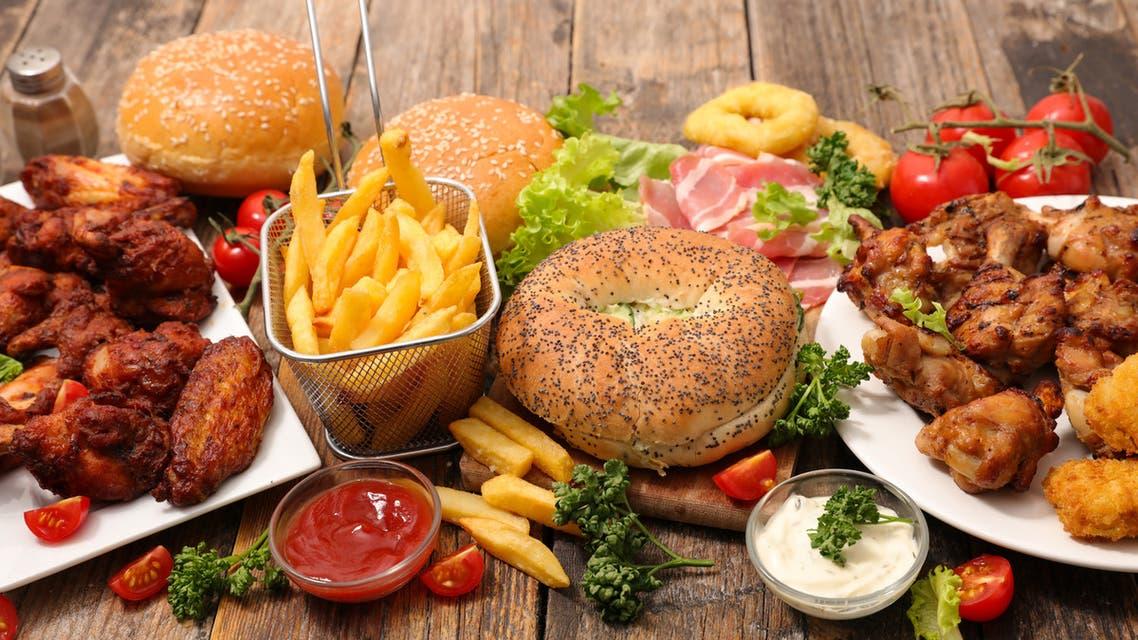 أطعمة غير صحية