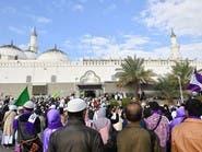"""هكذا يشهد مسجد """"قباء"""" إقبالا واسعا من الزوار"""