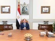 السيسي يبحث حماية الحدود مع وزير الدفاع وقائد البحرية