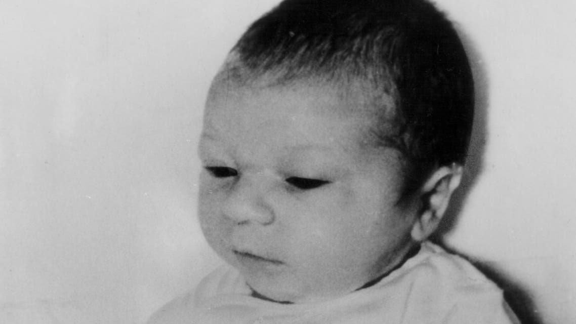 This April 26, 1964 file photo shows new-born Paul Joseph Fronczak shortly after his birth at Michael Reese Hospital in Chicago. (AP)