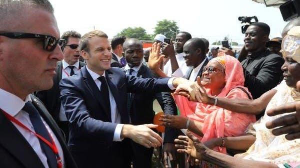 """ماكرون: القوات الفرنسية قتلت 33 """"إرهابياً"""" في مالي"""