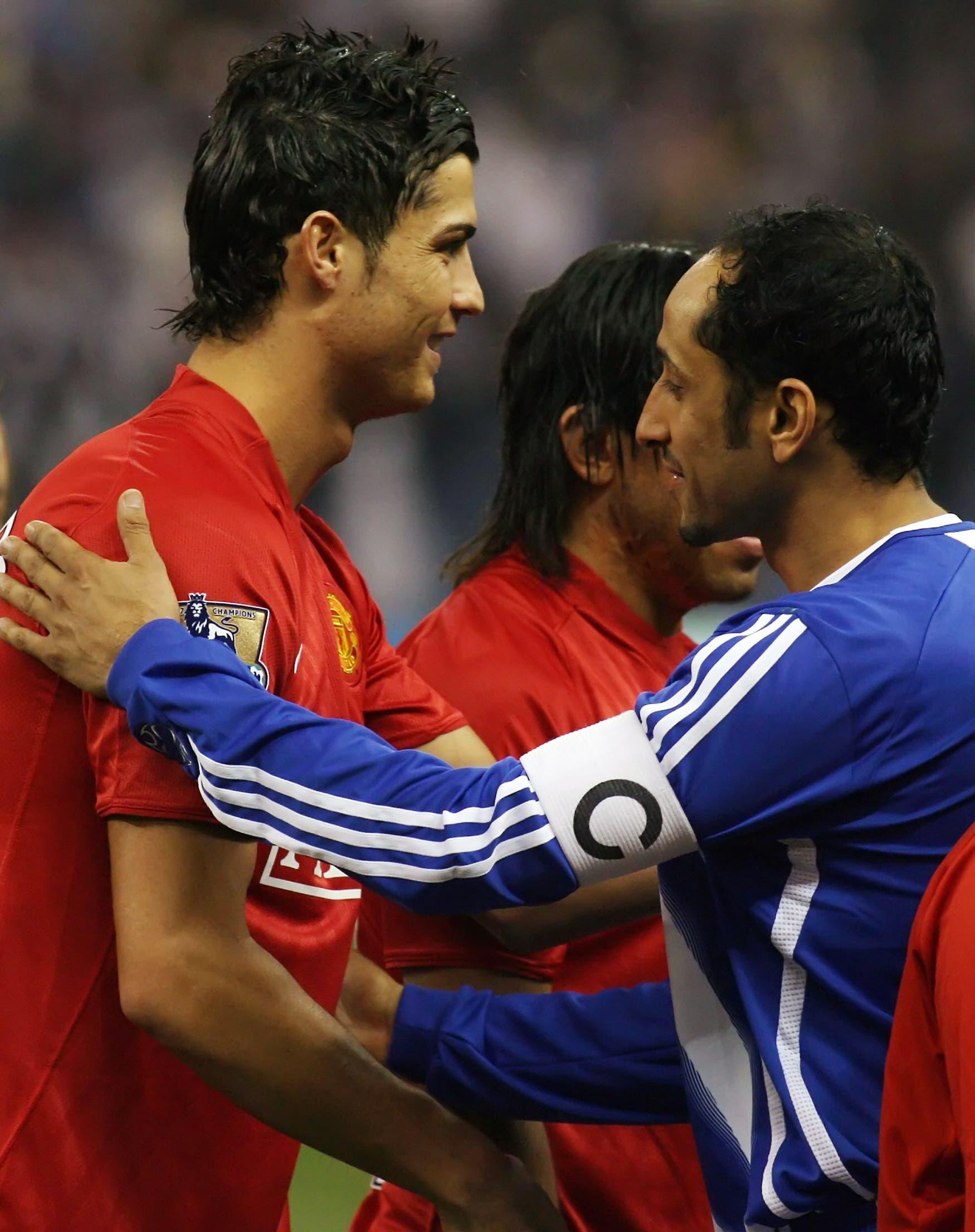 رونالدو مع سامي الجابر