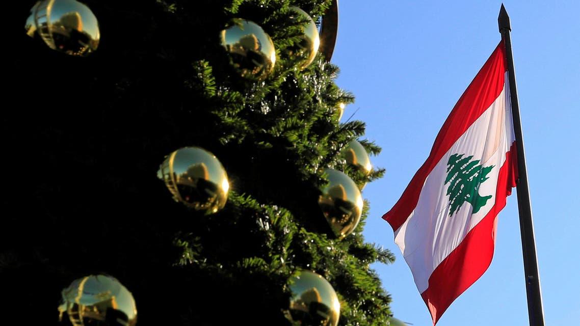 lebanon xmas tree Reuters