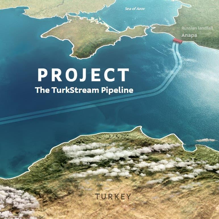 قصة خطي الغاز الروسي التركي.. هل يكتملان بعد عقوبات أميركا؟