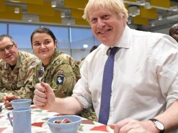 هذه هدية أعياد الميلاد من جونسون لجنود بريطانيين
