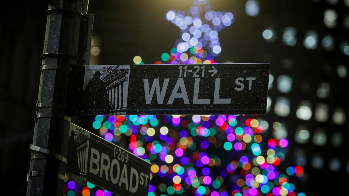 wall st christmas reuters