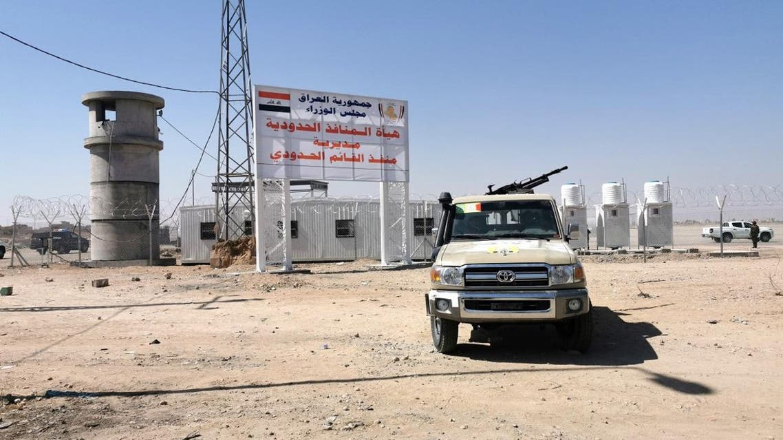 A view of the Iraqi-Syrian borders at Al Qaim Al Abu Kamal border crossing, after being reopened for travelers and trade in Anbar province, in Qaim, Iraq. (File photo: Reuters)