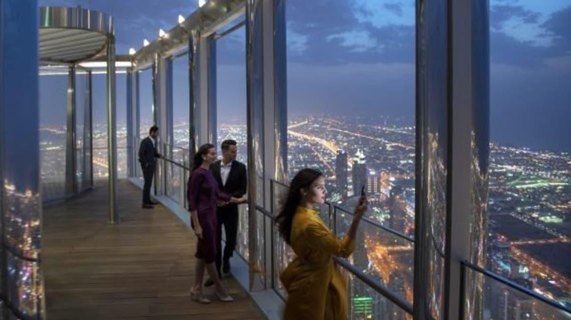 منصة المراقبة برج خليفة