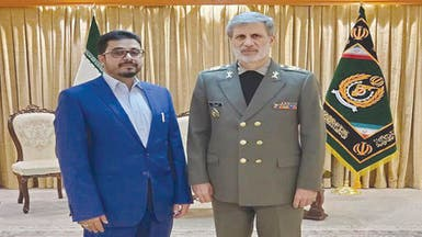 صورة واعتراف حوثي رسمي بالتعاون العسكري مع إيران