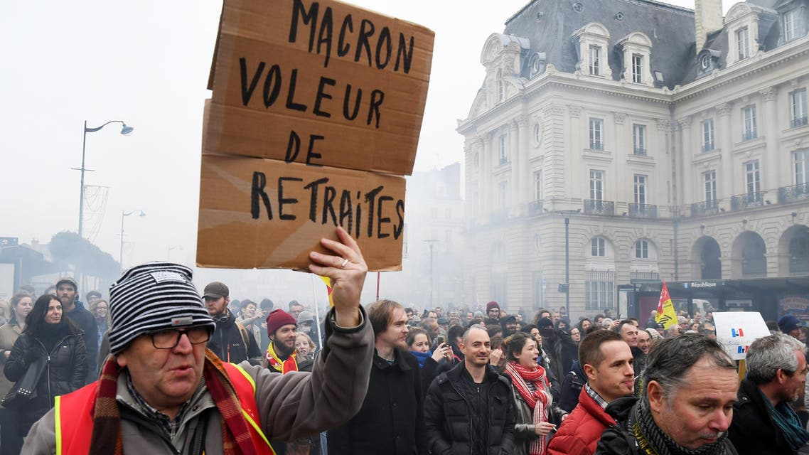 france pension protests AFP