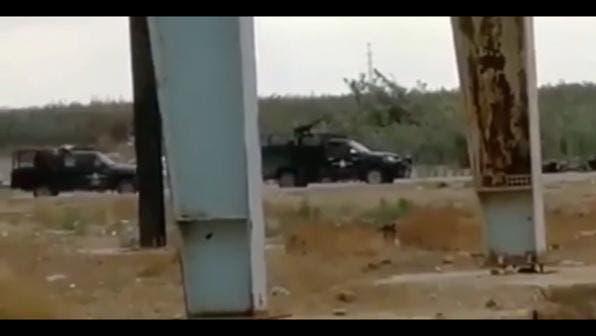 هجوم الامن الايرني وقوات الحرس الثوري علي المتظاهرين الذين تحصنوا بهور القصب في الجراحي