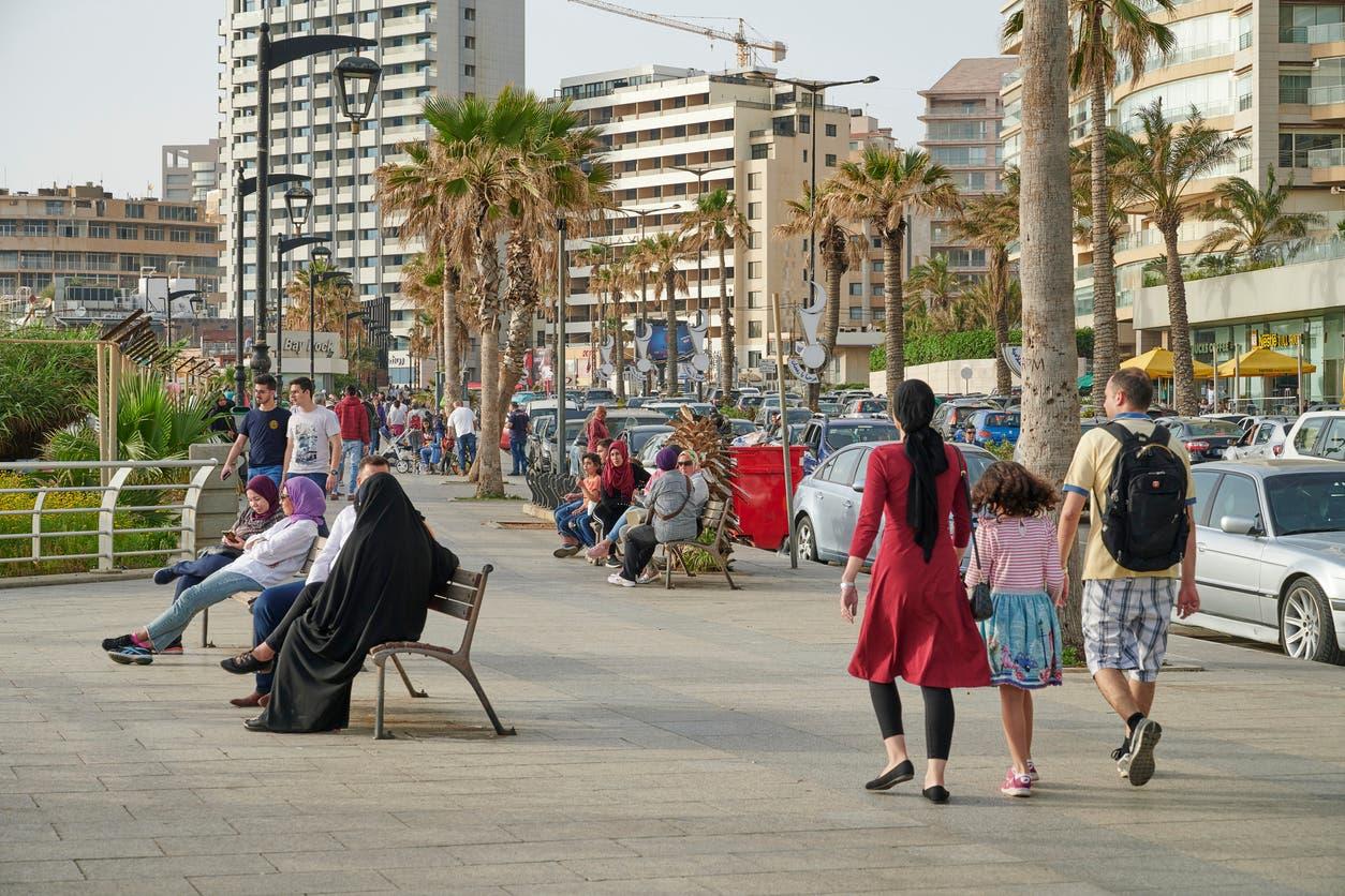 من بيروت