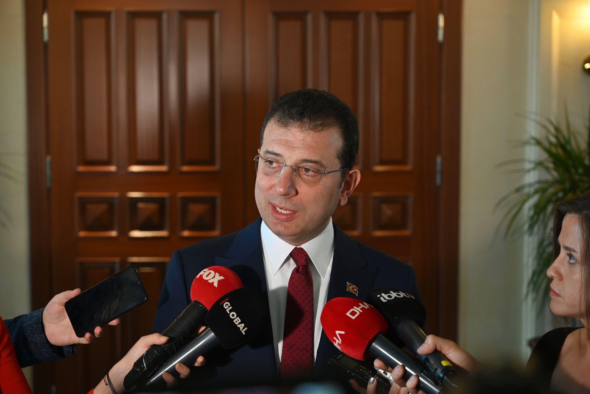 عمدة اسطنبول أكرم إمام أوغلو